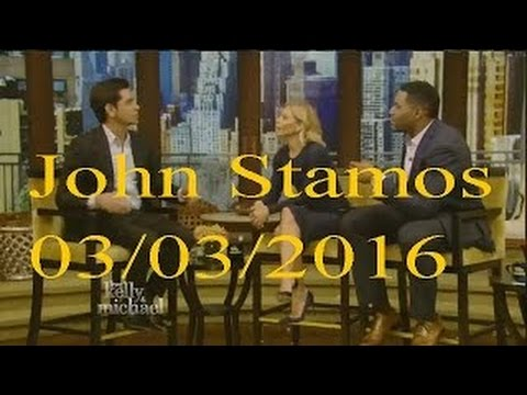 John Stamos interview Live! With Kelly and Michael 03.03.2016