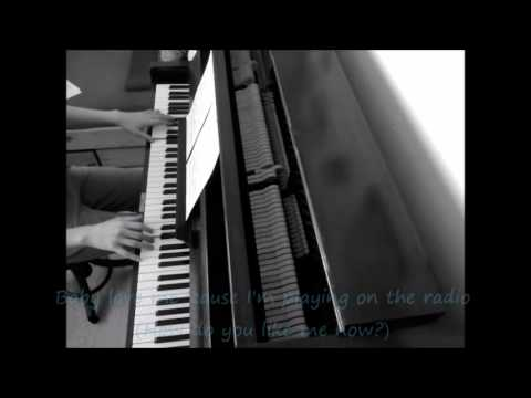 Lana Del Rey - Radio - PIANO COVER + lyrics
