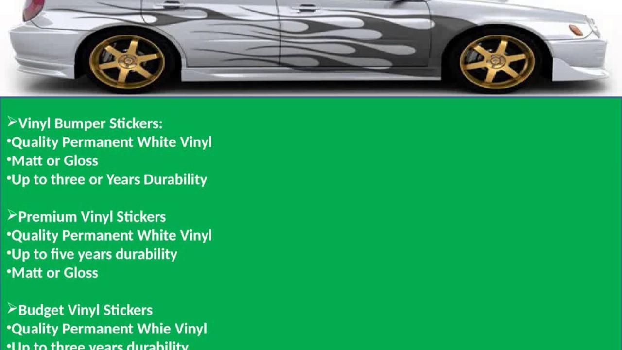 Using Custom Car Stickers Australia For Advertising YouTube - Custom vinyl decals australia
