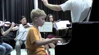 Kinder als Solisten - Großer Meister in kurzen Hosen