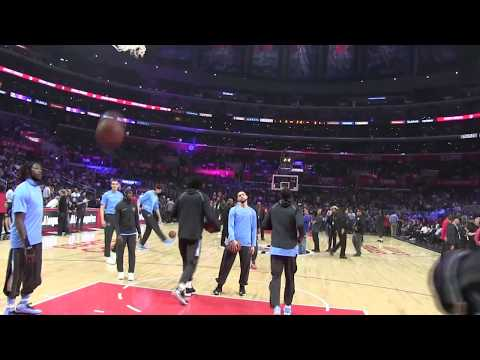 Los Angeles Clippers vs. Milwaukee Bucks: Tyrone Wallace Interview