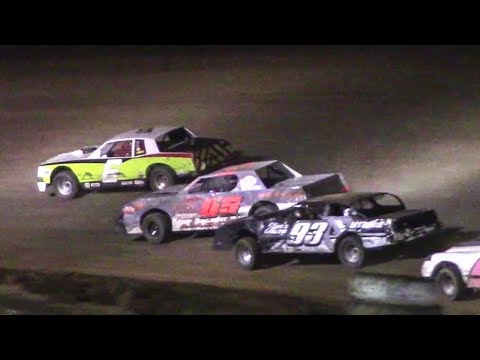 Pure Stock Feature | McKean County Raceway | 9-30-17