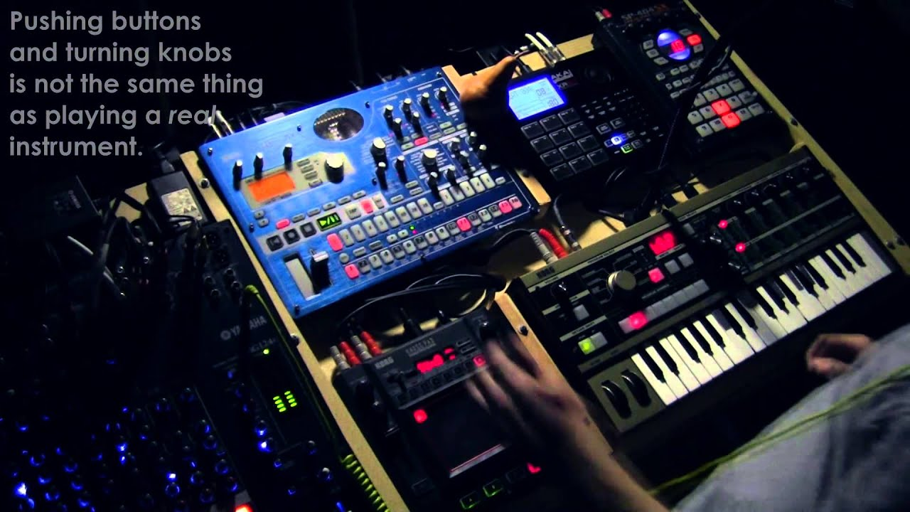 Electronic Musicians are Talentless. - YouTube