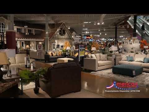 Entrega A Domicilio Nacional De American Furniture Warehouse /AFW