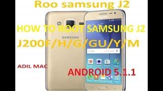Root samsung J2 J200F/H/G/GU/Y/M