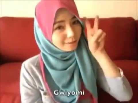 Gwiyomi Dance Parodi Gadis Berjilbab Yang Cute