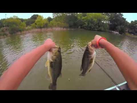 Canoe Bass Fishing MN 2016