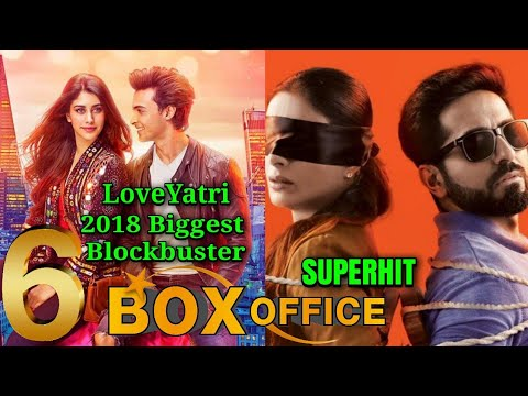 Total Box Office Collection Of Loveyatri & Andhadhun 6th Days