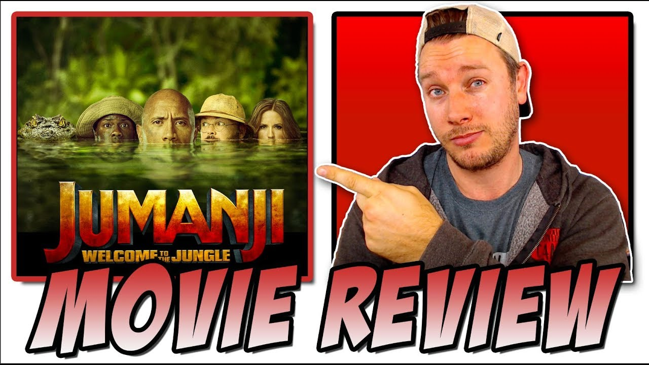 Jumanji: Welcome to the Jungle (2017) - Movie Review (Jumanji 2 w/ The Rock and Kevin Hart)