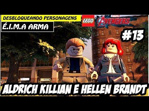 LEGO Marvel Vingadores #13 - Aldrich Killian e Hellen Brandt(Português Pt Br)HD-1080P