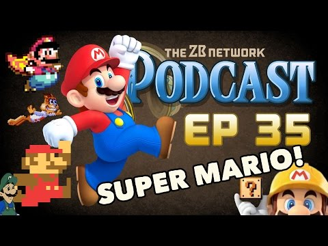 Super Mario Franchise Review - Episode 35 - The ZBN Podcast