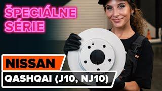 Ako vymeniť predných brzdové kotúče na NISSAN QASHQAI (J10, NJ10) [NÁVOD AUTODOC]