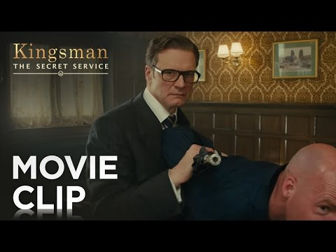 "Thumbnail: Kingsman: The Secret Service | ""Bar Fight"" Clip [HD] 