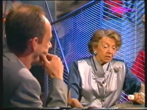 Inge Meysel stört Anmoderation