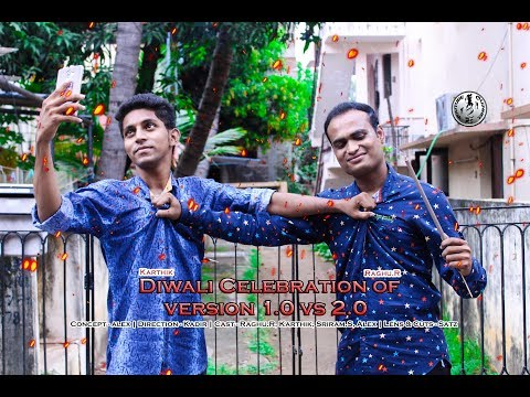 Diwali Celebration of version 1.0 vs 2.0 | 2Rs Channel | Raghu.R, Karthik, Sriram.S, Alex