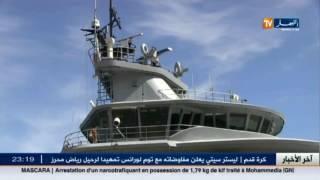 بجاية : باخرتان عسكريتان ترسوان بالميناء ... و السبب !!!