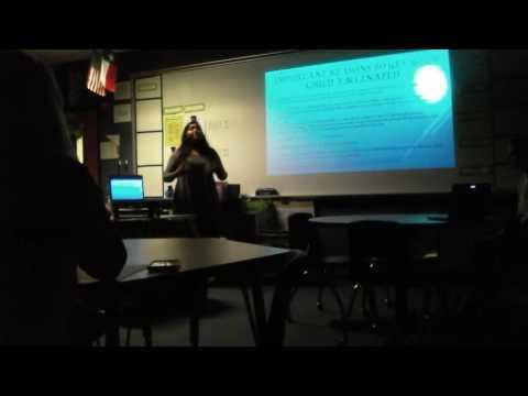 Sana Khan's ISM Final Presentation