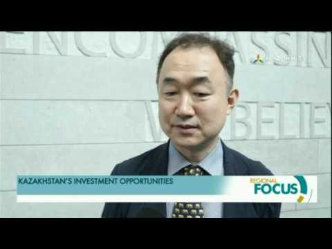 In South Korea, presented the investment opportunities of Kazakhstan
