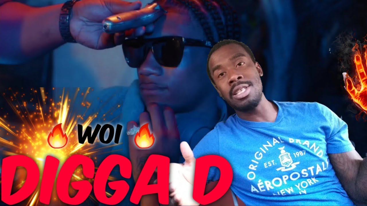 AMERICAN REACTS TO UK RAPPERS Digga D - Woi