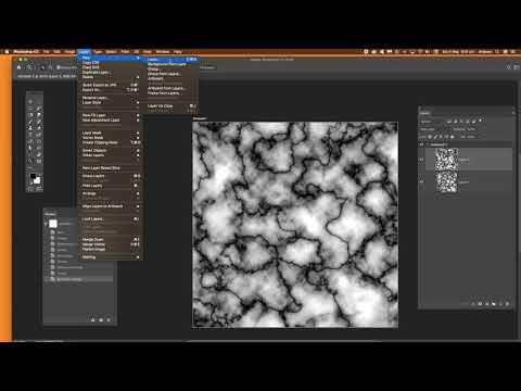 How to create marble texture (Photoshop tutorial) thumbnail