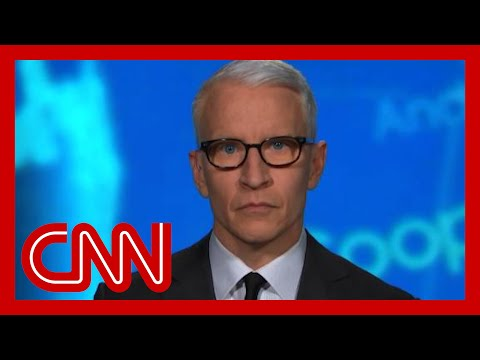 Anderson Cooper reacts to 'utterly heartless' Trump tweet