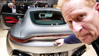 Aston Martin Vantage V8 review plus Valkyrie AMR Pro