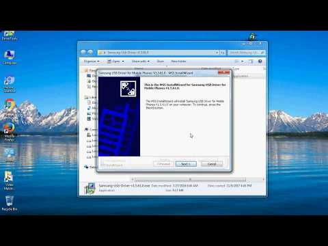 How to Install Samsung USB Driver on Windows 10, 8, 7, Vista, XP