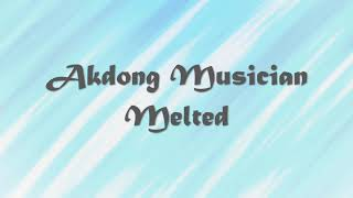 Akdong Musician - Melted (얼음들) Piano Cover