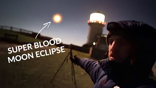 445 Miles to Photograph a Total Lunar Eclipse