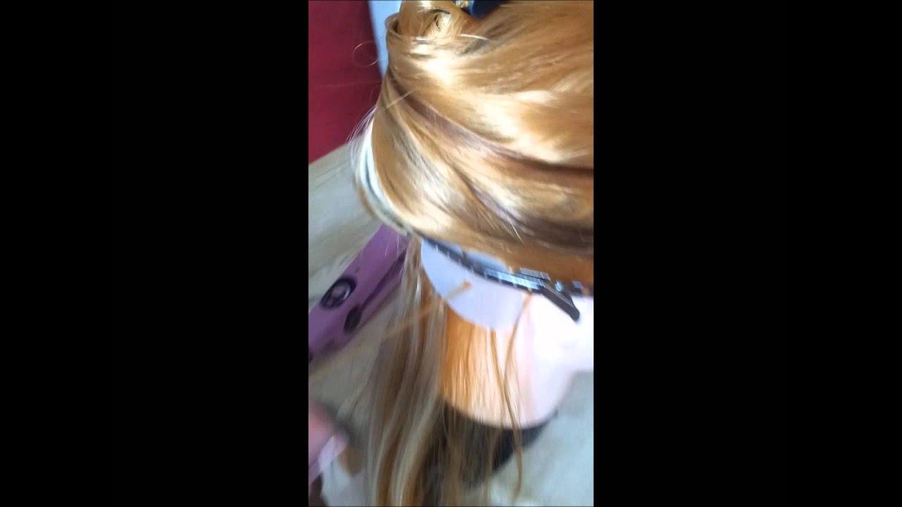Fusion Hair Styles: Micro-Fusion Hair Extensions