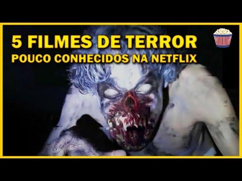 5 Filmes de TERROR pouco conhecidos na Netflix