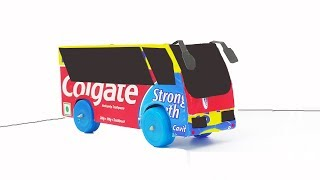 How  To Make Colgate Bus / Colgate Box Bus / Bus With Colgate Cover
