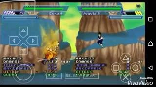 Dragon Ball Z Shin Budokai Another Road - GOKU: All Moves and Transformations