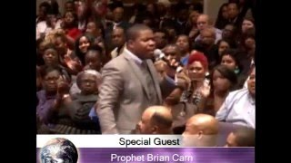 Prophet Brian Carn at GCT COGIC Bishop Brandon Porter is Pastor (Full Service)