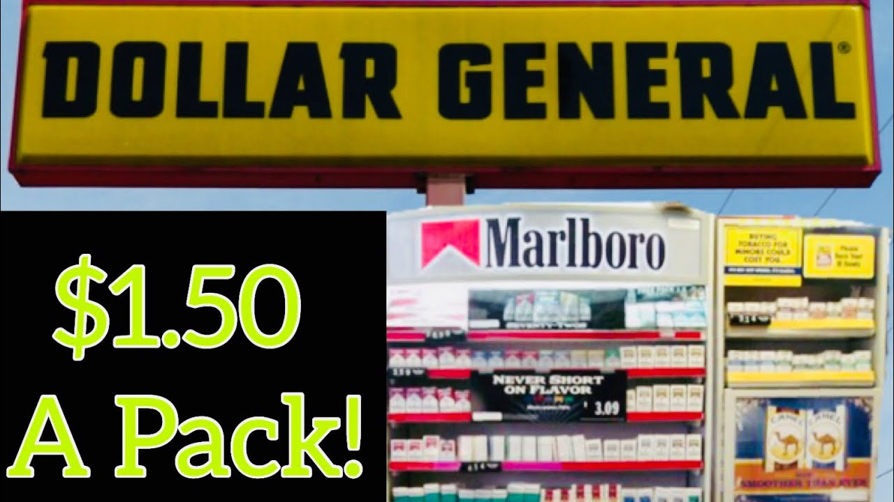 Tons Of Cigarettes $1 50 At Dollar General 4/9/19