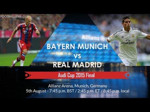 A que hora juega real madrid vs bayern munich final de for A que hora juega el real madrid