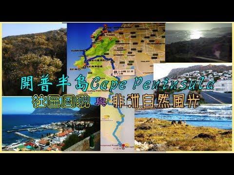 開普半島Cape Peninsula社區風貌與非洲自然風光