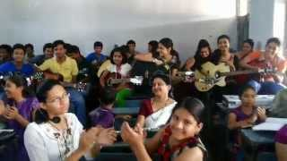 jabalpur dainik bhaskar guitar camp 2014 with amitabh rao