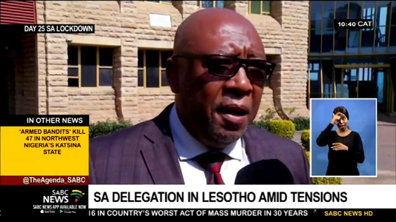 SA delegation arrives in Lesotho amid tensions