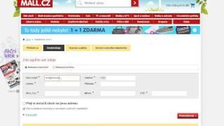 Mall.cz - návod na použití slevového kupónu