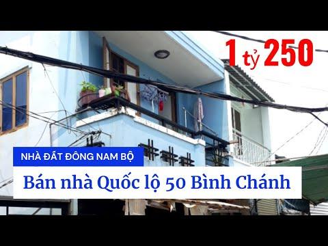 Chính Chủ Bán Nhà Phố Bình Chánh, Hẻm Quốc Lộ 50, Xã Bình Hưng, Huyện Bình Chánh Giá Rẻ 2020