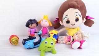 Niloya Tosbik Koca Ayı Toybox Kutusu Açıyorlar Toybox Mutluluk Paketi Niloya Yeni Bölüm Çizgi Film