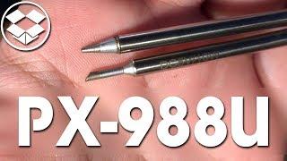 ???? [ОБЗОР] PX-988U USB-паяльник со сменными жалами