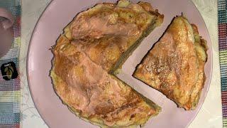 Вкусные, полезные и простые блюда. Тортик из кабачка.