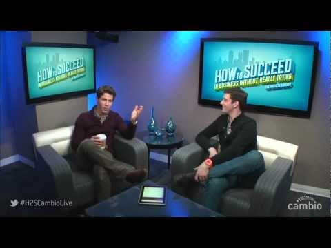 Nick Jonas And Michael Urie Live Chat On Cambio - Jan 23, 2012
