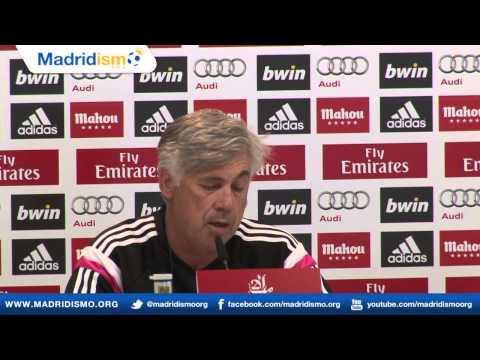 Rueda de prensa de Carlo Ancelotti, Previa Cordoba