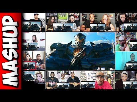 Pacific Rim 2: Uprising Trailer Reaction Mashup