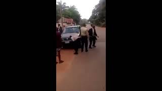 Female FRSC Official Mercilessly Flogged By Nigerian Lawyer