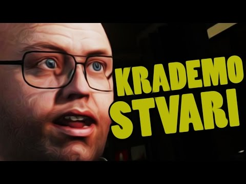 KRADEMO STVARI SA LESTEROM ! Grand Theft Auto V - Cleaning Out The Bureau