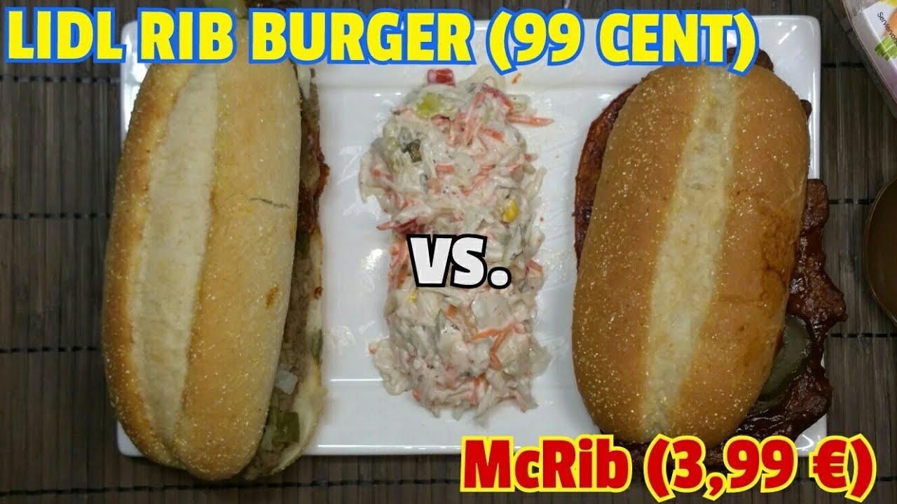 99 cent ribburger lidl vs 399 mcrib mcdonalds foodvlog 399 mcrib mcdonalds foodvlog german altavistaventures Images